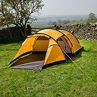 Snugpak Journey Quad Backpacking Tent, Sunburst Orange