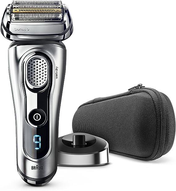 Braun Series 9 9260s Wet and Dry - Máquina de afeitar de láminas (LED, Batería, Ión de litio, 50 min, Plata): Amazon.es: Salud y cuidado personal