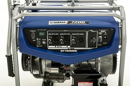 Amazon.com: Yamaha EF7200DE generador portable a gasolina ...