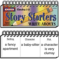 """McDonald Publishing MC-W2021 Story Starters Write-Abouts Booklet, Grade: 1 to 3, 0.6"""" Height, 8.9"""" Wide, 3.4"""" Length"""