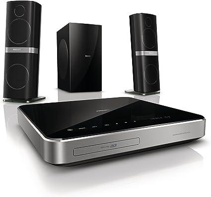 Philips HTS720112 5.1 3D Blu Ray Heimkinosystem (HDMI, 440 Watt, DivX Ultra, USB 2.0)