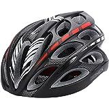 Adult Bike Helmet, Gonex Cycling Road Helmet with Safety Light, Adjustable 58-62cm, 24 Integrated Flow Vents