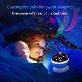 Comforzone [UPGRADED] Baby Night Lights Projector