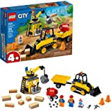 LEGO City Construction Bulldozer 60252 Toy Construction Set, Cool Building Set for Kids, New 2020 (126 Pieces)