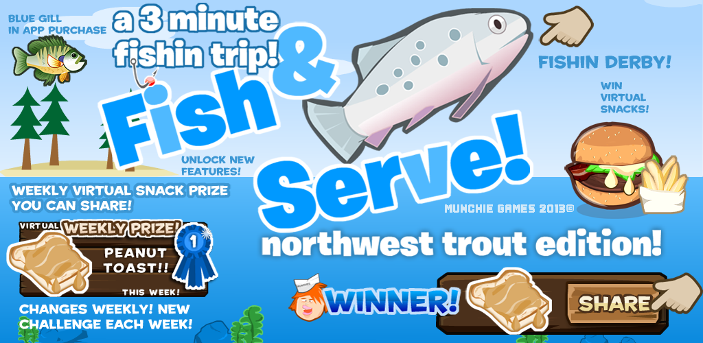 Fish and serve free edition appstore para android for What to serve with fish