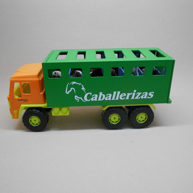 AMBIENTS ARTESANIA TAURINA CAMION DE Juguete para Transporte DE Caballos XL