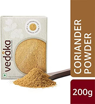 Amazon Brand - Vedaka Coriander (Dhania) Powder, 200g