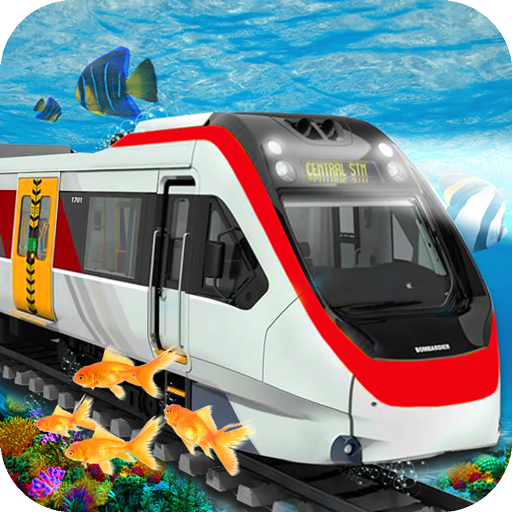 Underwater Train Simulator 3d - Free Game (Underwater Train)