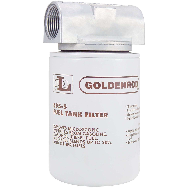 Goldenrod 595 Fuel Filter Spin On Part Number 56606 1989 Dodge Ram Location Automotive