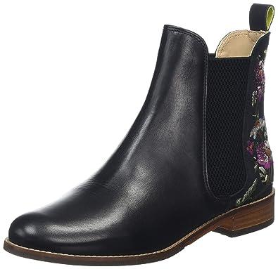 766d339d274ce Joules Women's Westbourne Chelsea Boots, (Black Woodland Floral Blkwdfl), 3  UK (