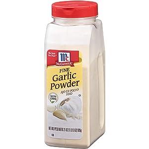 McCormick Fine Garlic Powder, 21 oz