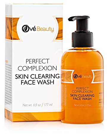 Amazon Com The Best Acne Skin Clearing Face Wash With Tea Tree For Sensitive Oily Combination Skin Natural Cleanser To Treat Facial Blemishes Pimples And Blackheads Non Drying Non Oily Beauty