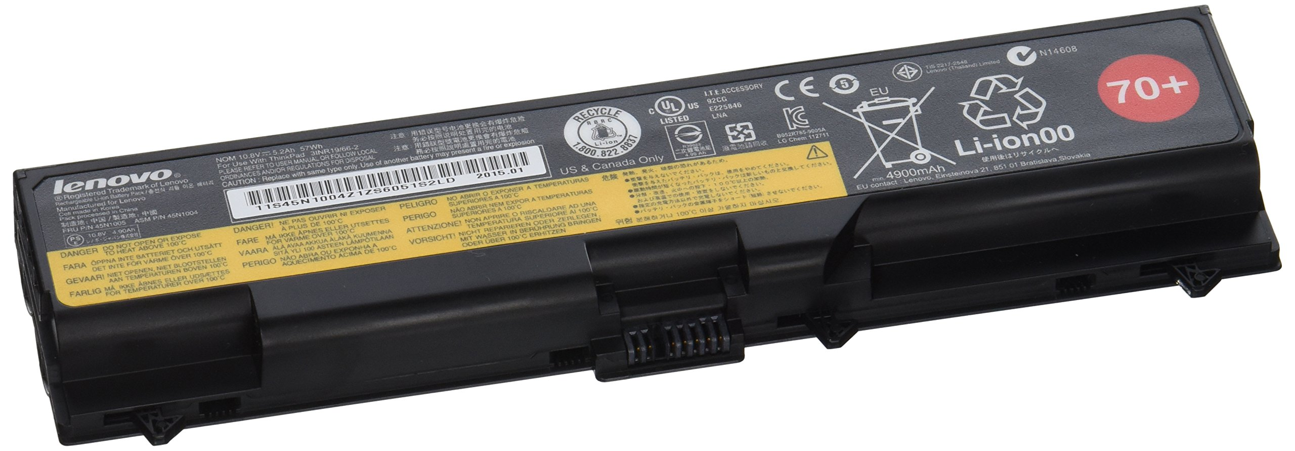 Lenovo Retail Part Number 0A36302, Thinkpad Battery 70+ , 6 Cell Original Factory Packaging For Select
