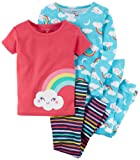 Amazon Price History for:Carter's Girls' 12M-8 4 Piece Mouse Ballerina Pajama Set