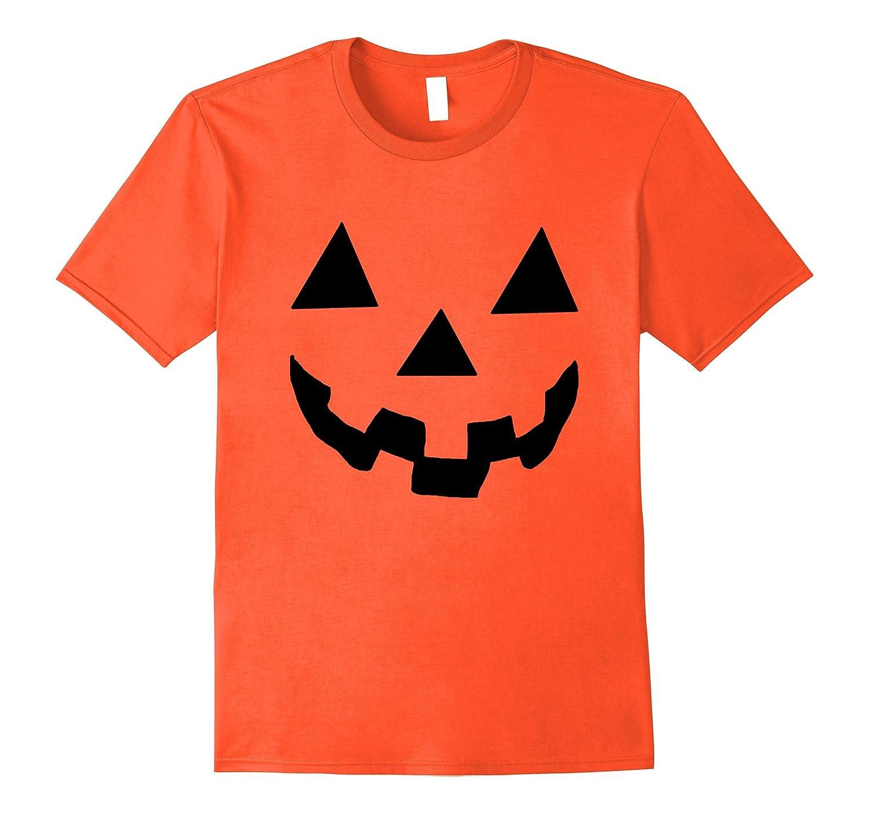 Jack O' Lantern Pumpkin Halloween Costume Shirt - Funny Tee-FL
