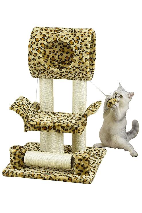 Go Pet Club GO Club de Mascota Gato árbol Condo casa