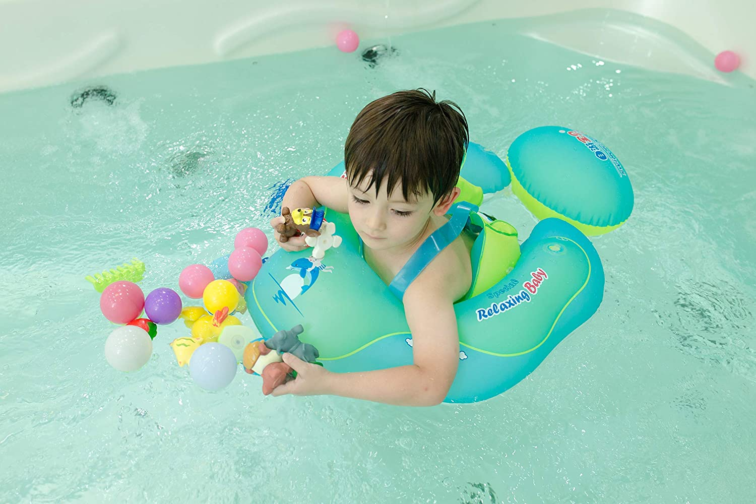 Baby Float for Baby Toddler Floaties Pool Toy for Toddlers Pool Floats for Baby Swim Ring for The Age of 3 Months-6 Years S