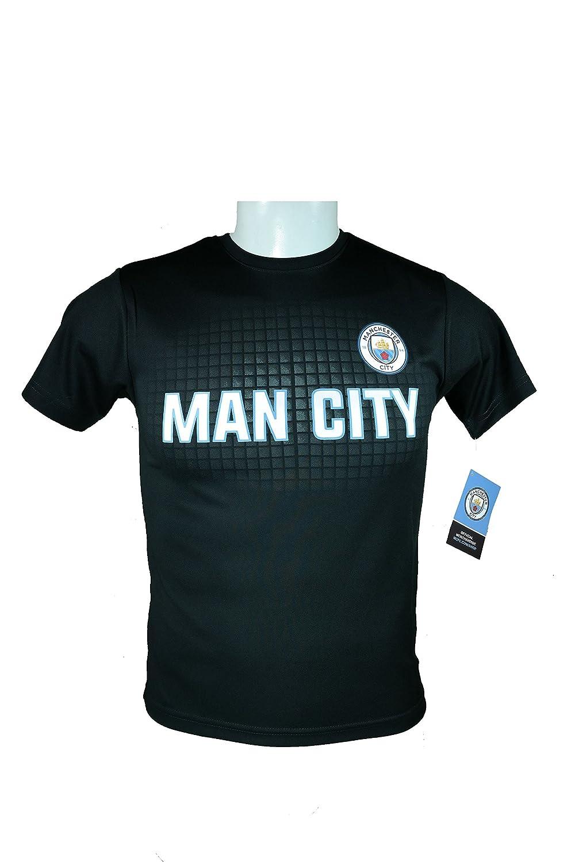 マンチェスターシティFC公式ユースサッカートレーニングパフォーマンスPoly Jersey – i002 B074RCWB2Z Youth|サイズ : YM Youth