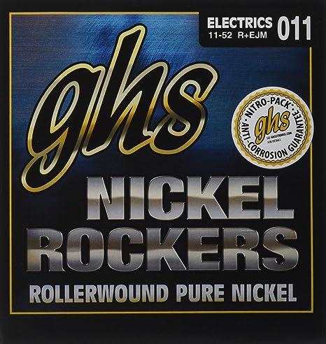 ghs REJM - Juego de cuerdas para guitarra eléctrica, 011-052 ...
