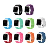 10 Colors Fitbit Blaze Band, BeneStellar Silicone Replacement Large Small Band Bracelet Strap for Fitbit Blaze Smart Fitness Watch ( Without Frame)