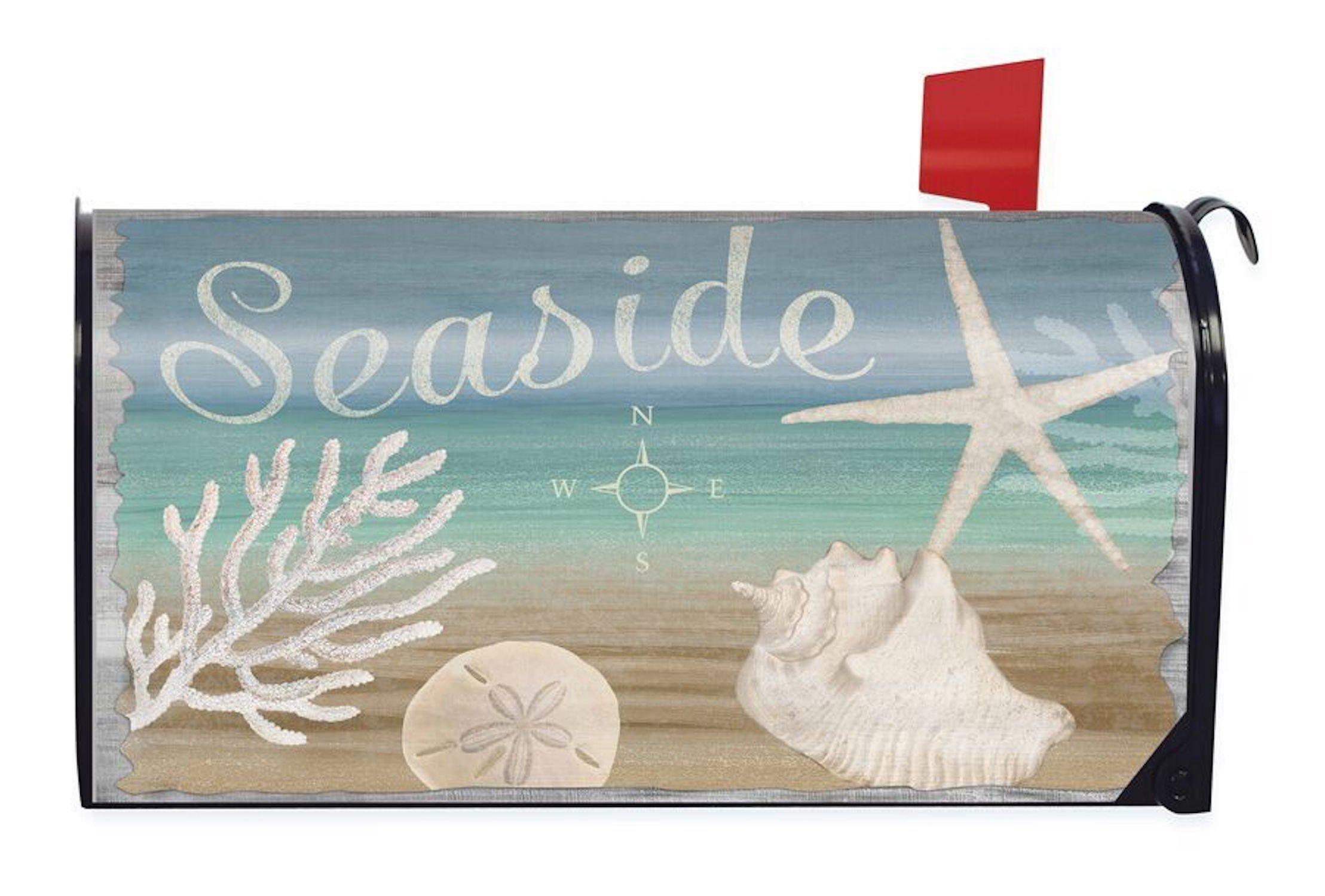 Briarwood Lane Seaside Summer Magnetic Mailbox Cover Nautical Starfish Beach
