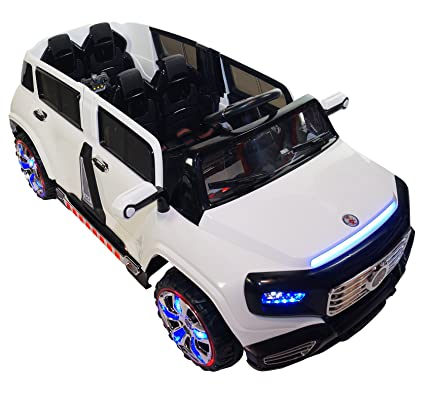 Two Seater 4 Door Premium Ride On Electric Toy Car For Kids 12v Battery Powered Led Lights Mp3 Rc Parental Remote Controller Suitable For