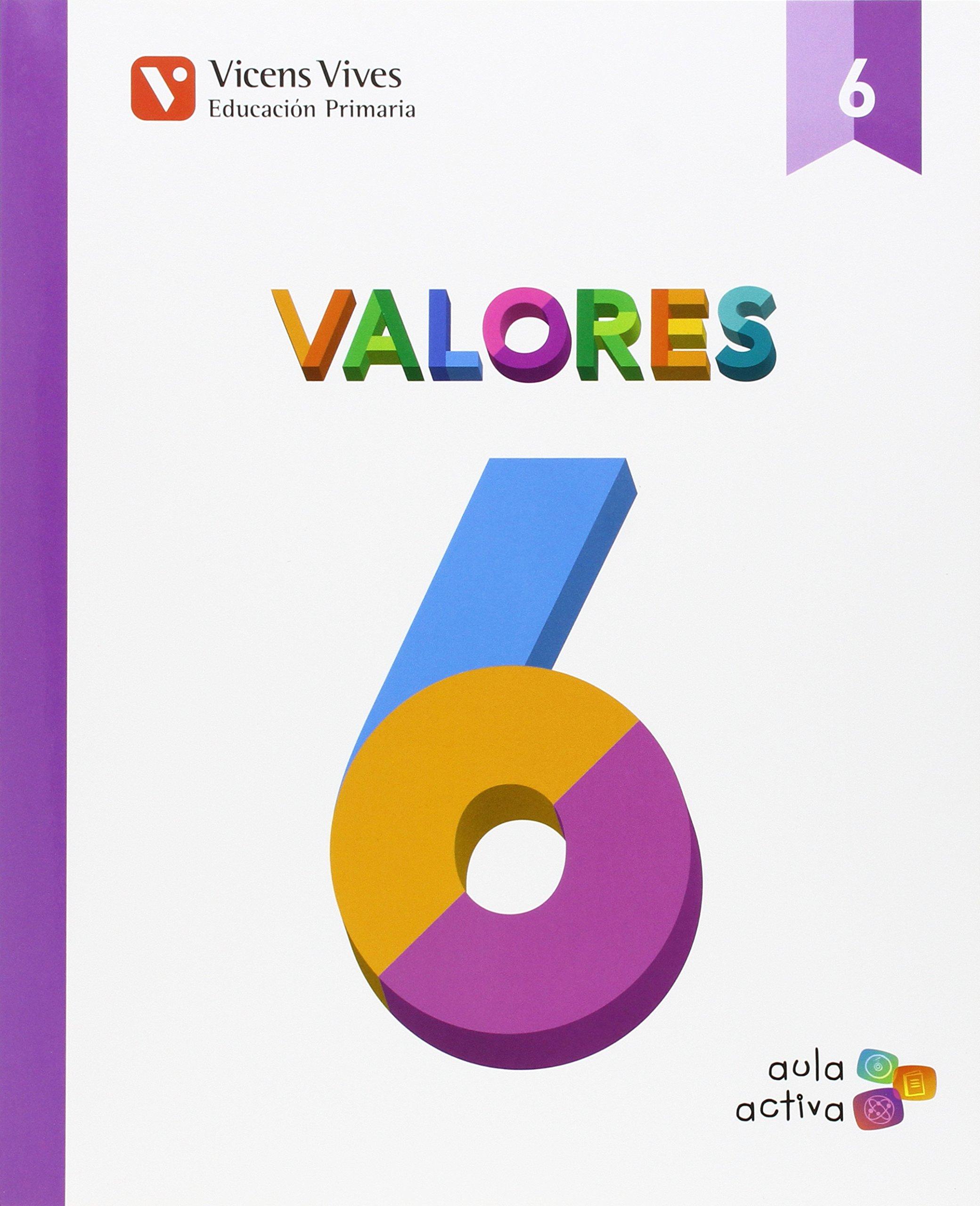 Download VALORES 6ºEP MEC 15 AULA ACTIVA VICETI16EP pdf epub