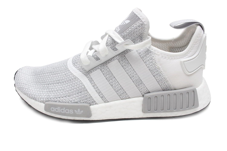 Amazon.com | adidas Men's Originals NMD R1 Running Shoe Grey/White |  Fashion Sneakers