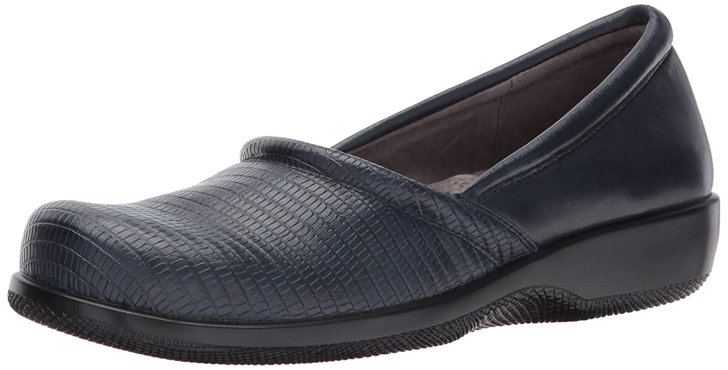 SoftWalk Women's Adora Flat B072FQMYWB 9 W US|Navy