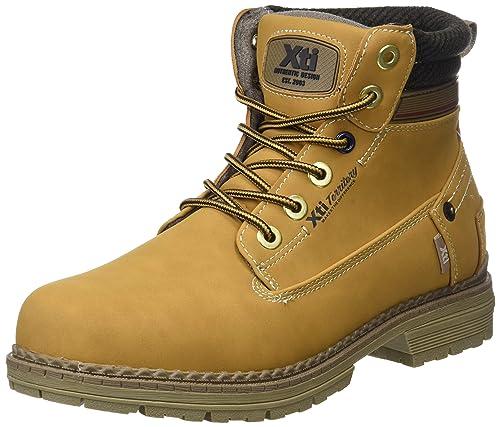 XTI 48158, Botas Clasicas para Hombre, Amarillo Panama, 42 EU: Amazon.es: Zapatos y complementos