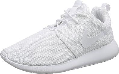 Ciego aprendiz concierto  Amazon.com | Nike Mens Roshe One White Running Shoe - 6 | Running