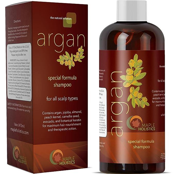 Maple Holistics Pure Argan Oil Shampoo