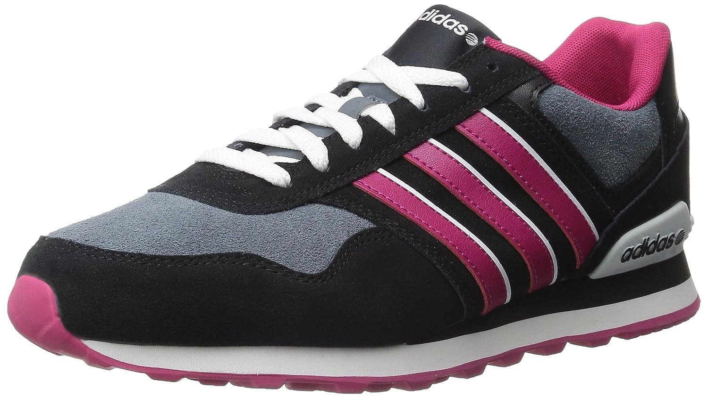 finest selection 7347d f8259 Amazon.com  adidas Womens 10K W-W BlackBold PinkWhite 8.5 M US   Fashion Sneakers