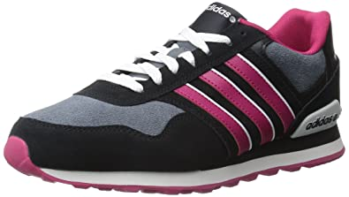 best cheap 0eb4a 4916d adidas Women s 10K W-W, Black Bold Pink White, ...