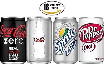 Amazon com : Coke Zero, Diet Coke, Sprite Zero, Diet Dr