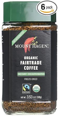Mount Hagen Organic Freeze Dried Instant Decaf Coffee