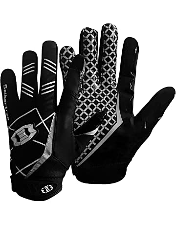 758a1916cfb Seibertron Pro 3.0 Elite Ultra-Stick Sports Receiver Glove Football Gloves  Youth and Adult
