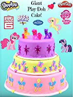 HUGE My Little Pony Cutie Mark Play Doh Cake Toy Review