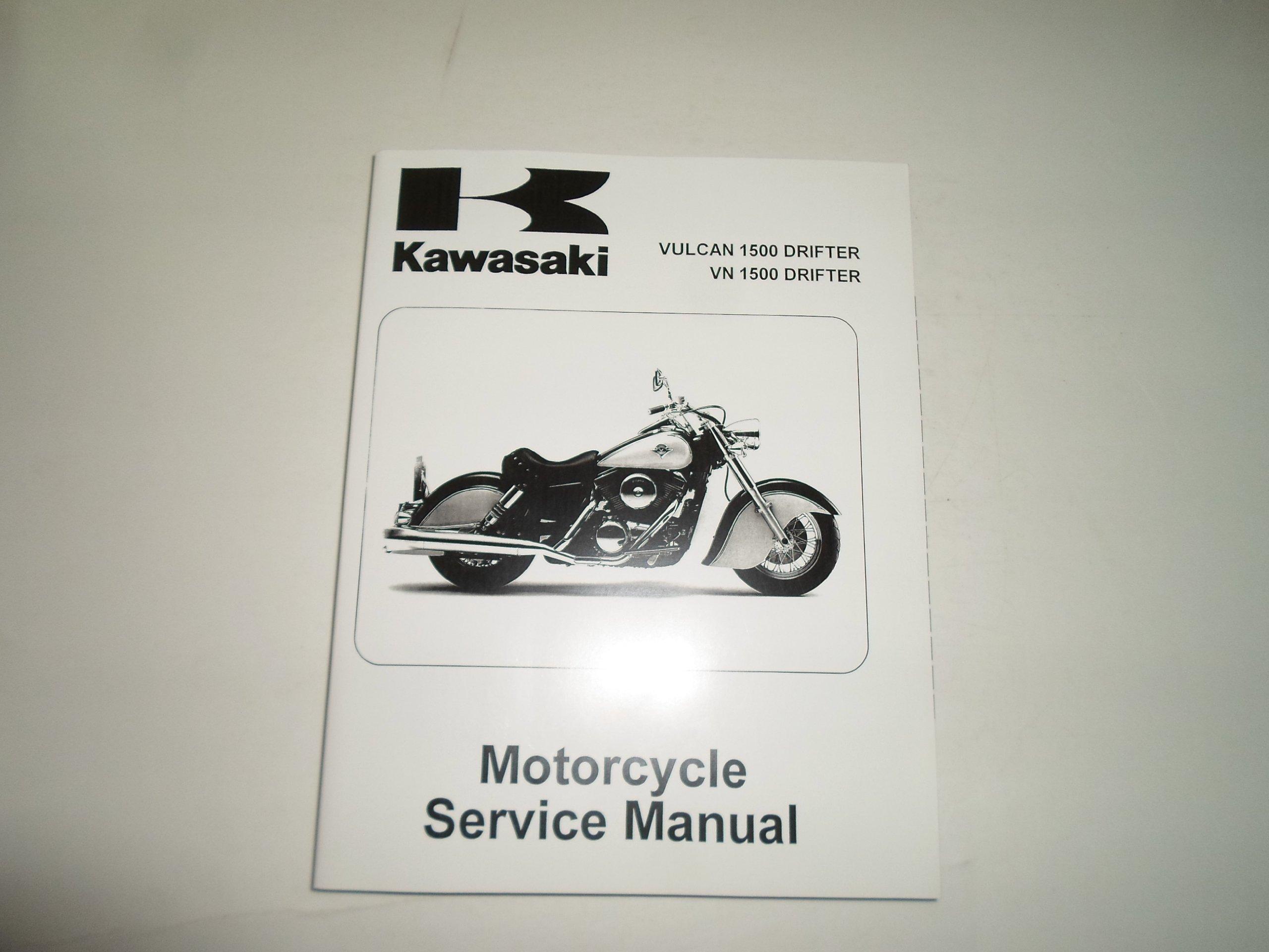 2001 2002 Vulcan 1500 Drifter VN1500 Drifter Motorcycle Service Manual:  KAWASAKI: Amazon.com: Books