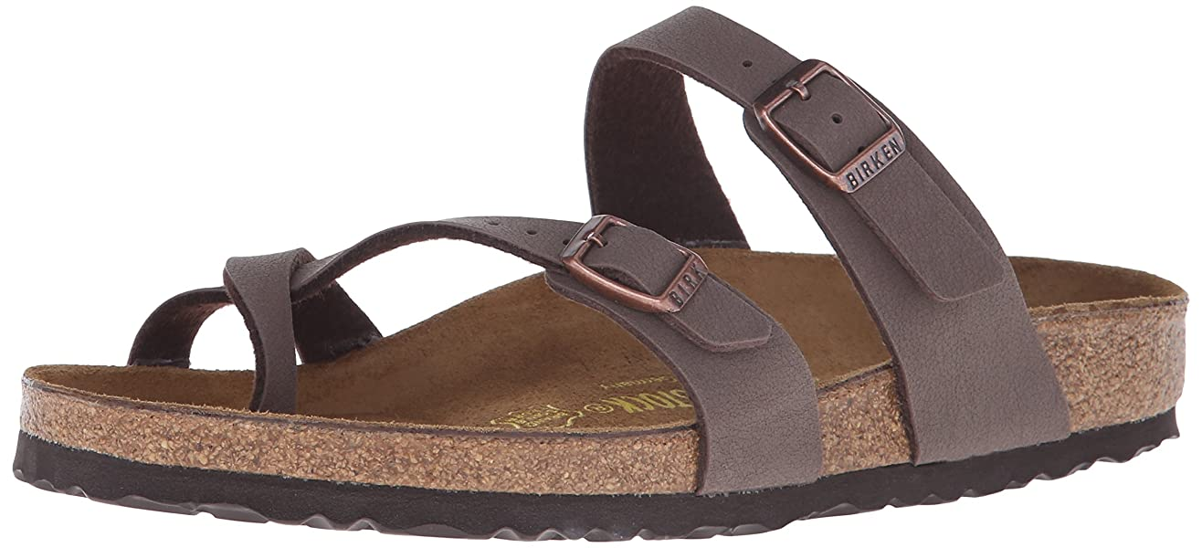 5f2bf469e1378 Amazon.com   Birkenstock Women's Mayari Sandal, Mocha, 38 M EU / 7 ...