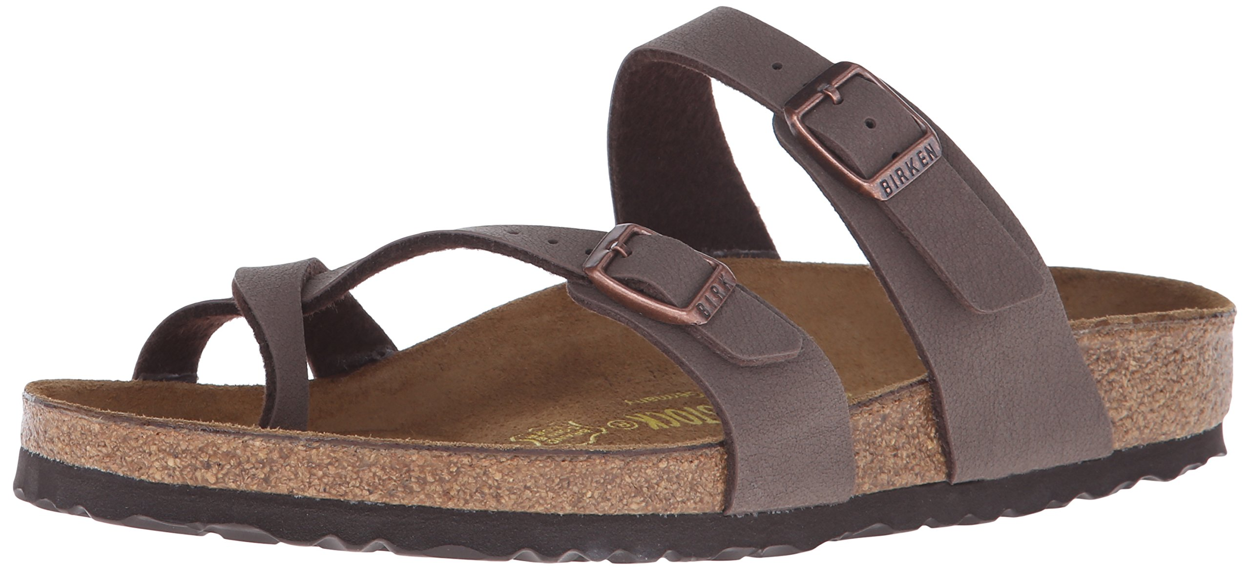 Birkenstock Women's Mayari Mocha Birkibuc Sandal 36 R (US Women's 5-5.5)