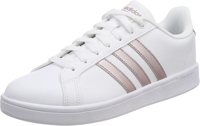 adidas Damen CF Advantage Fitnessschuhe, Weiß (Ftwbla/Grmeva ...