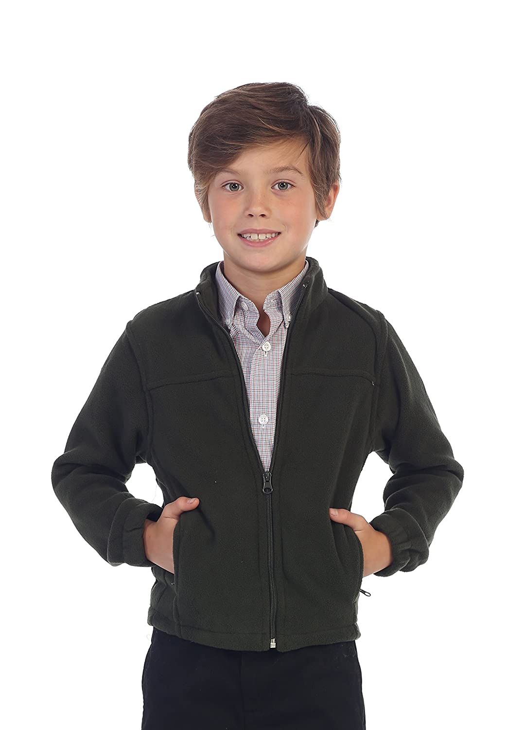 Gioberti Boys Full Zip Polar Fleece Jacket China FS-801