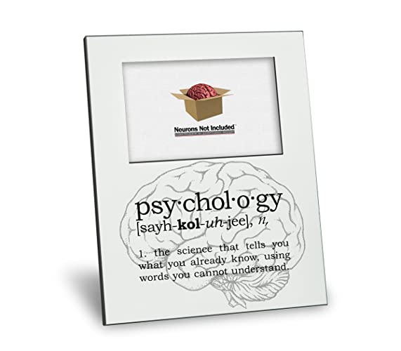Amazon.com: Psychology Definition Picture Frame - Personalization ...