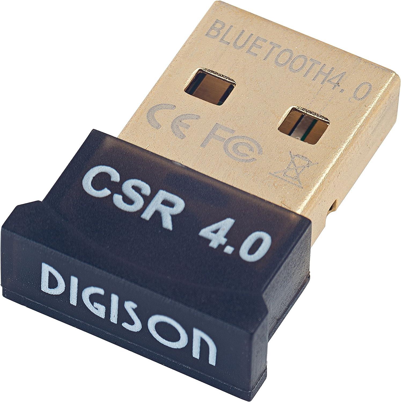 digison DS 5100/USB Nano Dongle Bluetooth versione 4.0/tecnologia con nuovi standard Plug /& Play fino a 3/Mbit//s