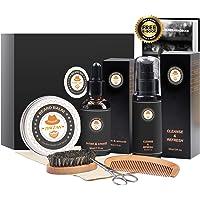 XIKEZAN Beard Growth Grooming Kit (Black)