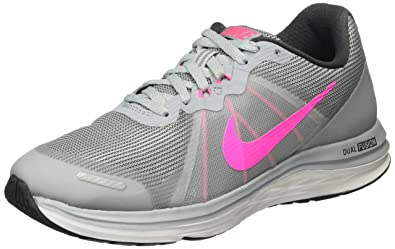 Nike WMNS Dual Fusion X 2, Chaussures de Running Entrainement Femme, Gris -  Gris