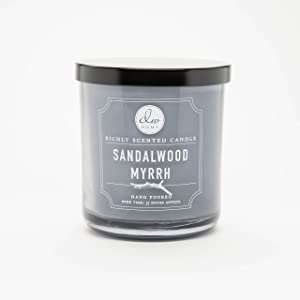 DW Home Medium Single Wick Candle, Sandalwood Myrrh