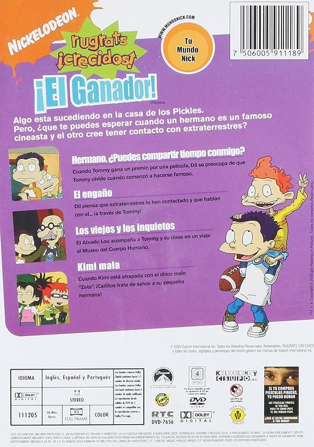 Rugrats Crecidos: El Ganador (DVD)(All Grown Up: O\'Brother): Amazon ...