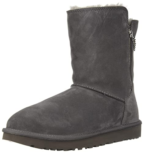 2aac25319c6 UGG Womens W Classic Short Sparkle Zip Fashion Boot